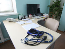 Stanza di consulto di medico fotografie stock
