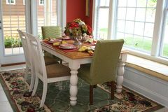 Stanza di Dinning Fotografie Stock