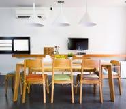 Stanza di Dinning Immagine Stock Libera da Diritti