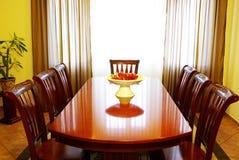 Stanza di Dinning Fotografia Stock Libera da Diritti