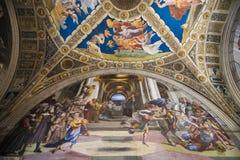 Stanza di Eliodoro-Vatican museum Stock Photography