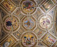 Stanza di Eliodoro-Vatican museum Royalty Free Stock Images