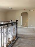 Stanza di famiglia del secondo piano in costruzione Fotografia Stock Libera da Diritti