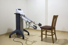 Stanza di fisioterapia nel centro della stazione termale Fotografia Stock