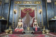 Stanza di Giava tradizionale del tempio, Java Immagini Stock Libere da Diritti
