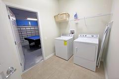 Stanza di lavanderia Fotografie Stock Libere da Diritti
