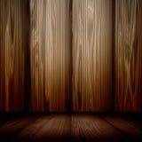 Stanza di legno royalty illustrazione gratis