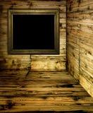 Stanza di legno Fotografie Stock Libere da Diritti