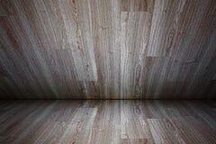 Stanza di legno Immagine Stock