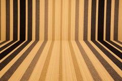 Stanza di legno astratta del fondo Fotografie Stock Libere da Diritti