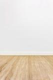 Stanza di legno del pavimento Fotografie Stock Libere da Diritti