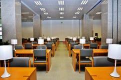 Stanza di lettura Fotografie Stock Libere da Diritti