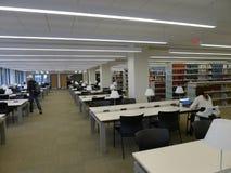 Stanza di lettura dell'università Immagine Stock Libera da Diritti