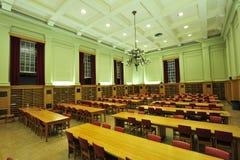 Stanza di lettura delle biblioteche Fotografia Stock