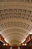 Stanza di lettura nella Biblioteca del Congresso Fotografia Stock