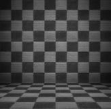 Stanza di lusso in bianco e nero Immagini Stock