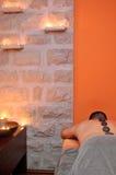 Stanza di massaggio Fotografia Stock