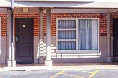 Stanza di motel tipica Fotografie Stock