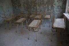 Stanza di nascita di Cernobyl immagine stock