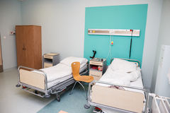 Stanza di ospedale vuota Fotografie Stock