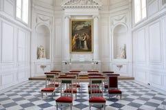 Stanza di ospite al palazzo di Versailles immagini stock