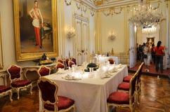 Stanza di prima colazione degli imperatori austriaci Immagine Stock Libera da Diritti