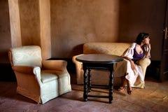 Stanza di seduta Fotografia Stock