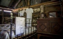 stanza di sonno degli anni 20 Fotografia Stock Libera da Diritti