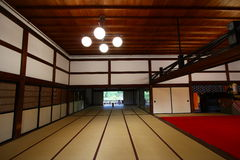 Stanza di Tatami Immagini Stock