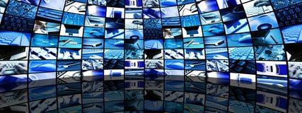 Stanza di tecnologia Immagini Stock