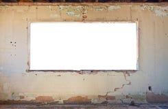 Stanza e finestra di Grunge Fotografia Stock Libera da Diritti