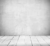 Stanza e pavimento vuoti Immagini Stock Libere da Diritti