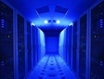 Stanza ed unità del server Fotografia Stock Libera da Diritti