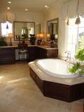 Stanza elegante del bagno Fotografie Stock