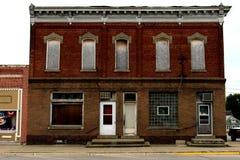 Stanza frontale di negozio abbandonata Fotografia Stock Libera da Diritti