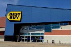Stanza frontale di negozio di Best Buy fotografie stock libere da diritti