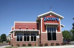 Stanza frontale di negozio del ristorante del ` s di Zaxby Immagine Stock