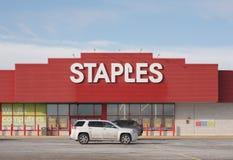 Stanza frontale di negozio di Staples Fotografie Stock