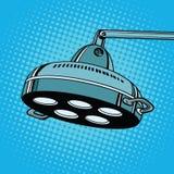 Stanza in funzione della lampada chirurgica Fotografia Stock