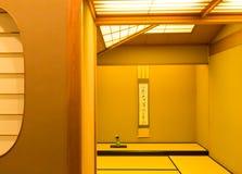 Stanza giapponese Fotografie Stock Libere da Diritti