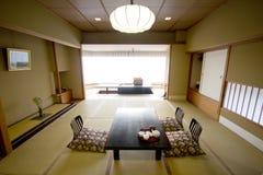 Stanza giapponese tradizionale Fotografie Stock
