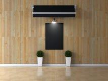 Stanza interna con l'immagine Fotografia Stock