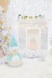 Stanza interna decorata nello stile di Natale Fotografia Stock