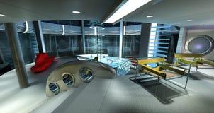 Stanza moderna Immagine Stock