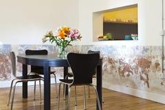 Stanza moderna di cibo Fotografia Stock