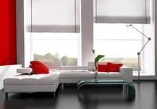 stanza moderna dissipante illustrazione vettoriale