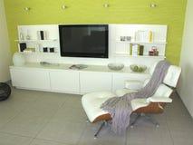 stanza moderna vivente Immagine Stock