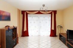 stanza moderna vivente Immagini Stock