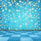 Stanza multicolore per le feste felici Immagine Stock
