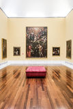 Stanza a Museu de Belles Arts de Valencia immagini stock libere da diritti